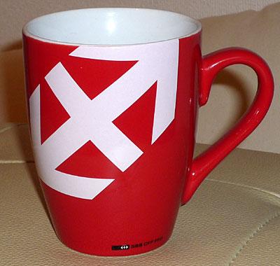 スイス国鉄 マグカップ