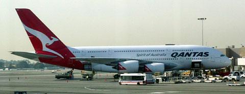 カンタスA380