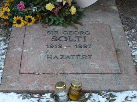 サー・ゲオルグ・ショルティーの墓