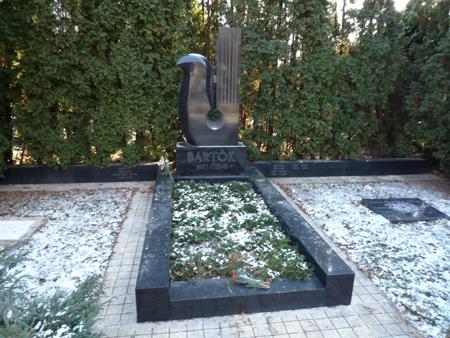バルトークの墓