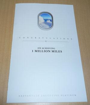 AAdvantage 1 Million Miler