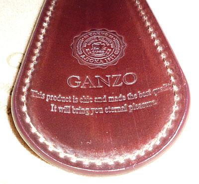 GANZO シェルコードバンシューホーンキーホルダー