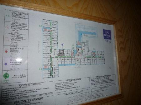 ヒルトン ミラノ 506号室