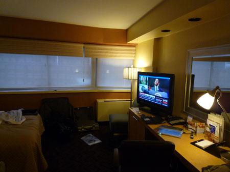 DoubleTree Metropolitan NewYork 1618号室