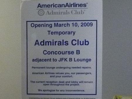 AA JFK Flagship Lounge