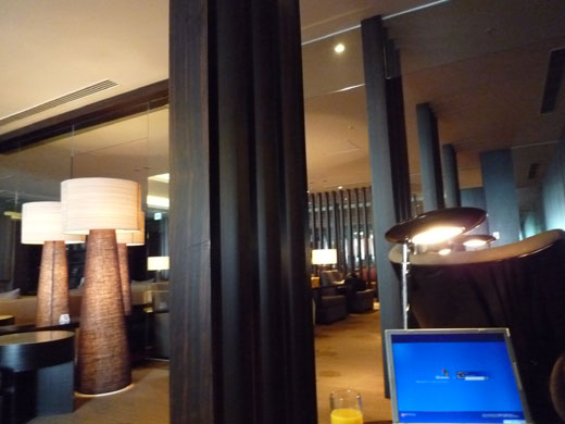 JAL FirstClass Lounge