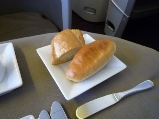 JAL FirstClass (JAL SUITE) MEAL 機内食
