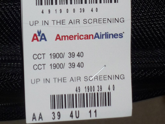 AA Up in the air