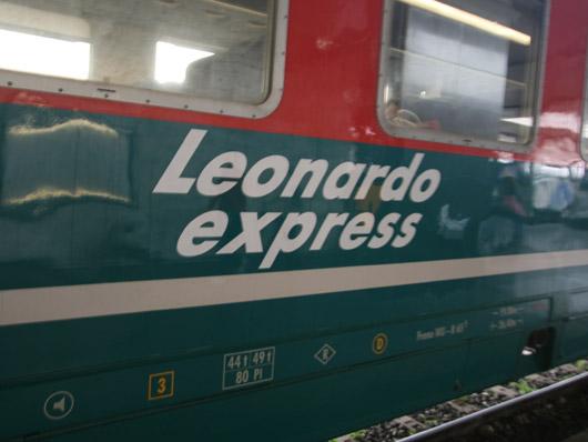 Leonardo express Roma-Aeroporto di Fiumicino