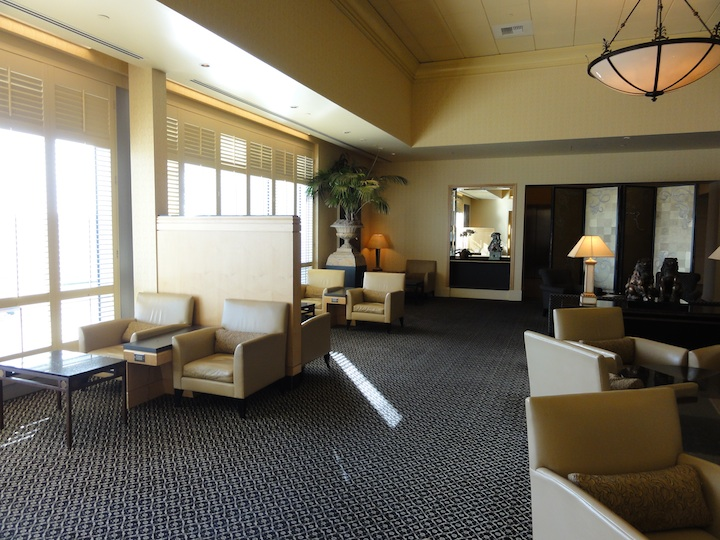 United InternationalFirstClass  Lounge SFO