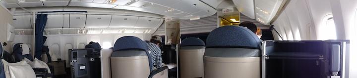 UA885 SFO-KIX B777-200ER 3J FirstClass