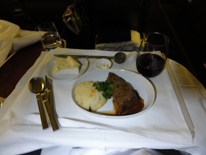 RTW Business Class Meal