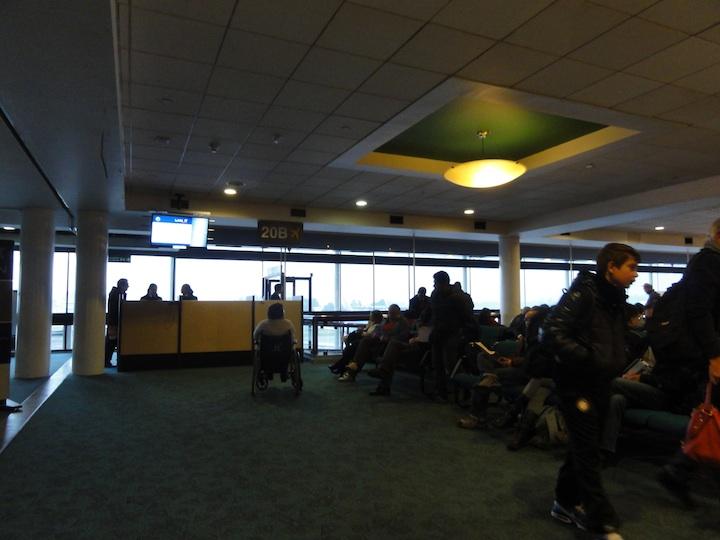 世界一周3日目サンチアゴ国際空港