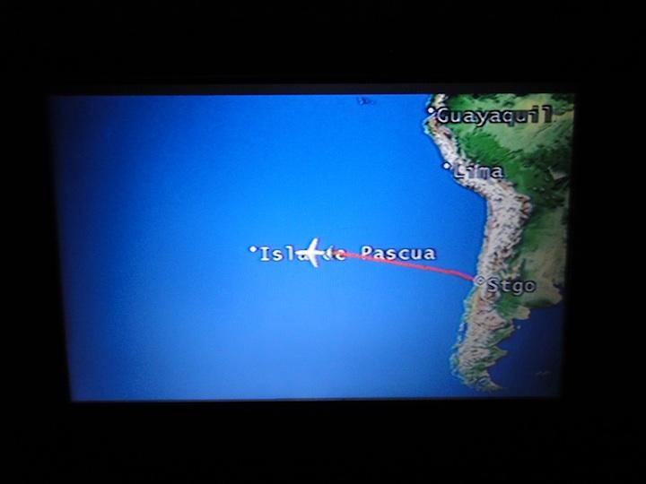 世界一周3日目LA841 SCL-IPC