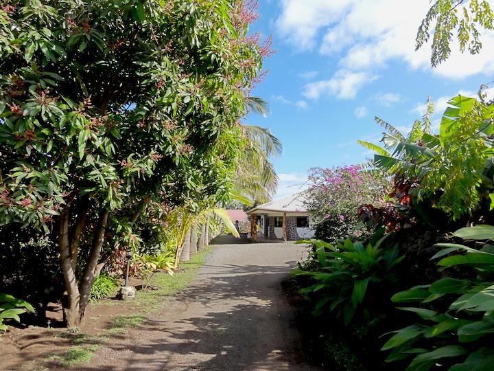 世界一周3日目ホテル・ゴメロ・イースター島