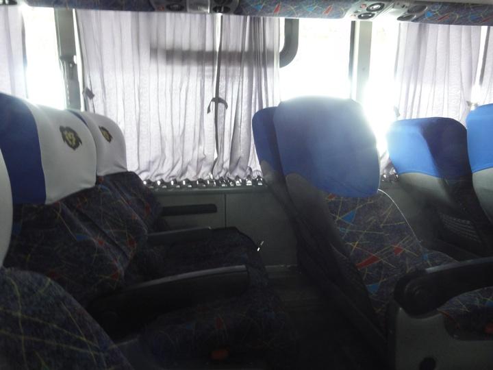 世界一周7日目ライオンバス・ブエノスアイレス