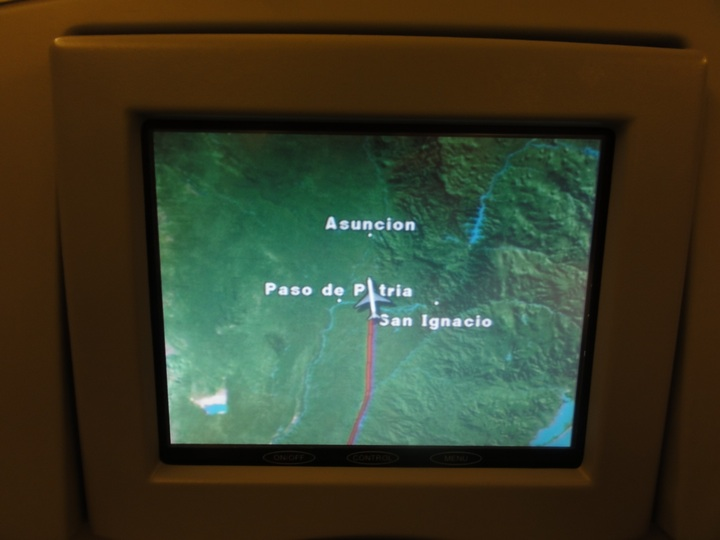 世界一周10日目AA956 EZE-JFK