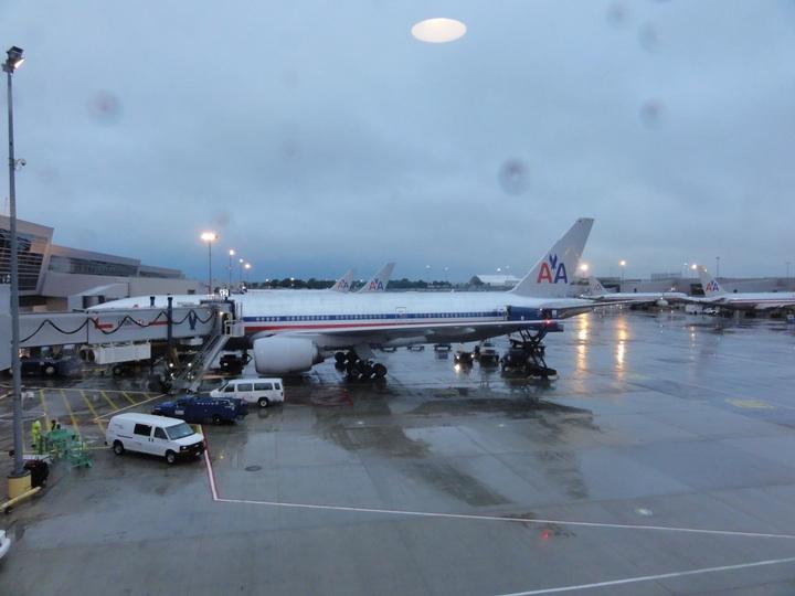 世界一周11日目ニューヨークJFK国際空港「AAフラッグシップラウンジ」