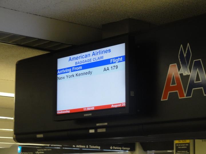世界一周11日目AA179 JFK-SFO