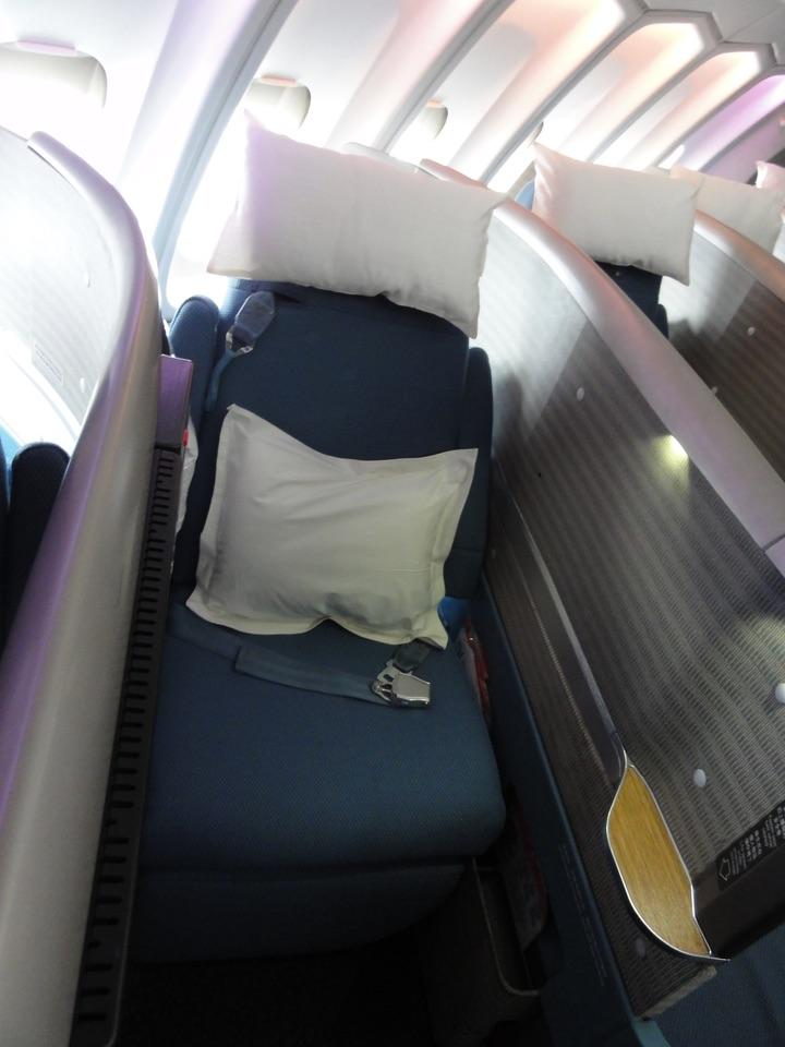 CX250 LHR-HKG BusinessClass B747-400