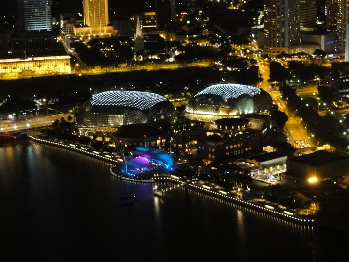 Marina bay sands observation dack