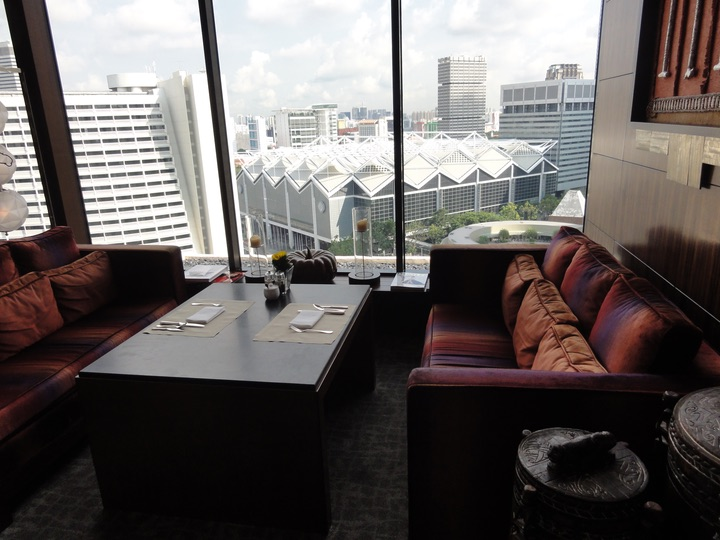 mandarin oriental singapore club lounge