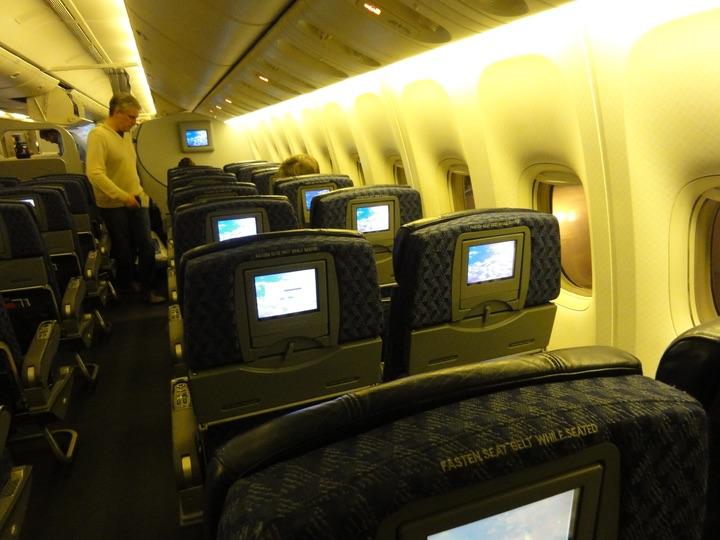 AmericanAirlines AA154 NRT-ORD EconomyClass