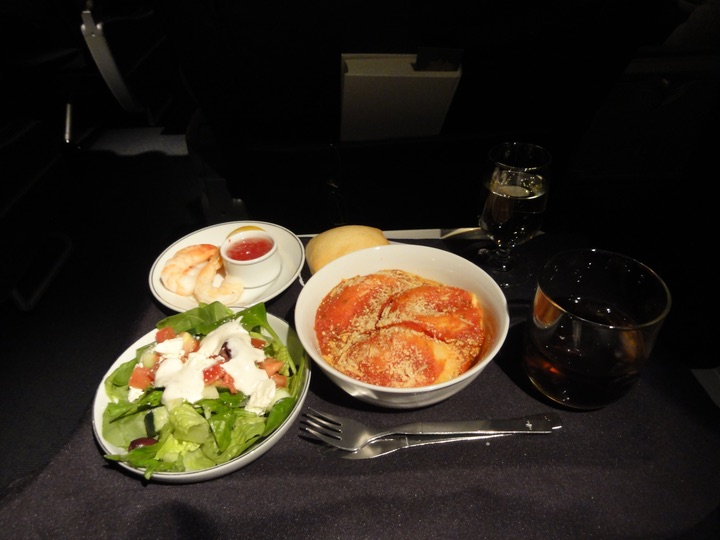 AmericanAirlines AA2013 ORD-LAS FirstClass