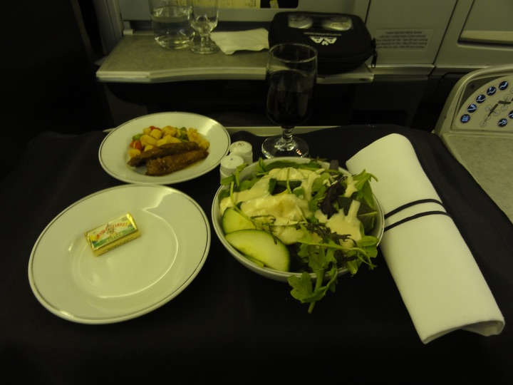 AmericanAirlines AA169 LAX-NRT BusinessClass