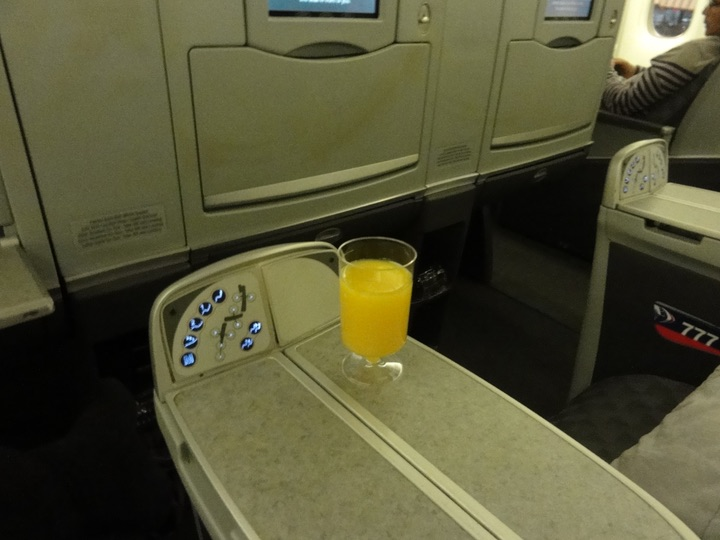 AmericanAirlines AA168 NRT-JFK BusinessClass