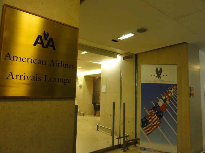 AmericanAirlines LHR ArrivalsLounge