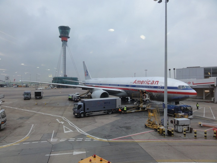 AmericanAirlines AA115 LHR-JFK BusinessClass