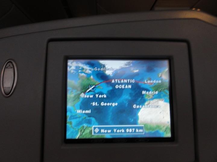 AmericanAirlines AA115 LHR-JFK BusinessClass