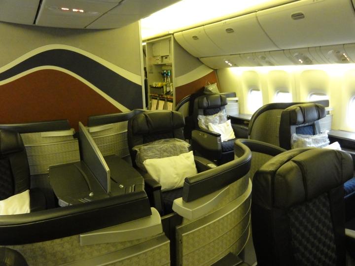 AmericanAirlines AA154 NRT-ORD FirstClass