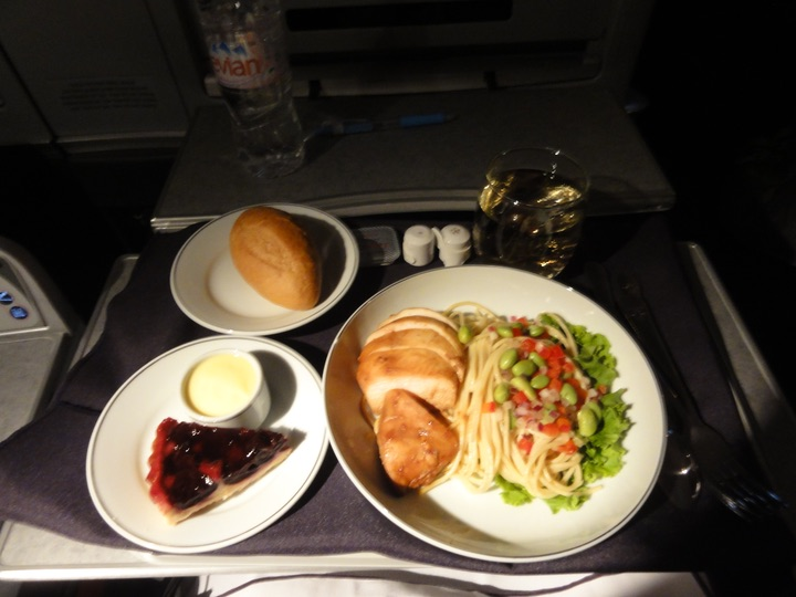 AA136 HND-JFK BusinessClass