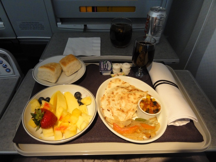 AA114 JFK-LHR BusinessClass