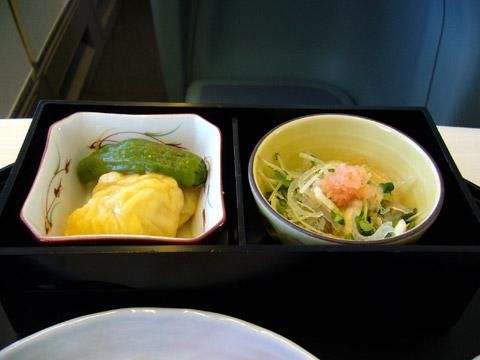 JAL006機内食12